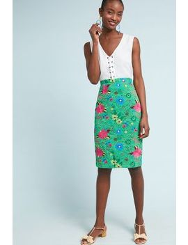 Patricia Lace Pencil Skirt by Plenty By Tracy Reese