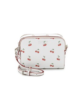 Double Zip Cherry Cross Body Bag by Marc By Marc Jacobs