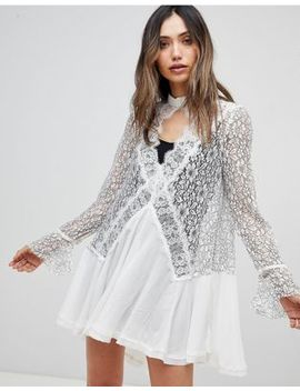 Free People Tell Tale Lace Dress by Free People