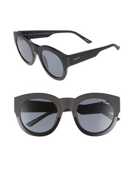 If Only 50mm Round Sunglasses by Quay Australia