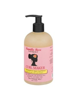 Camille Rose Naturals Curl Maker Marshmallow & Agave Leaf Extract, 12.0 Oz by Camille Rose Naturals
