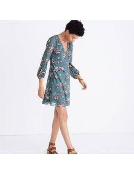Marguerite Dress In Butterfly Garden by Madewell