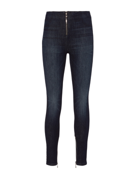 Madison Zip Front Superior Blue Jeans by Rt A