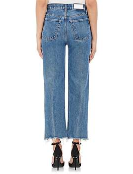 High Rise Stovepipe Jeans by Re/Done