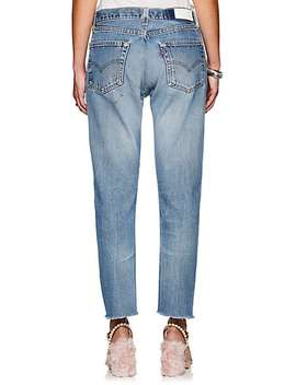Relaxed Crop Levi's® Jeans by Re/Done