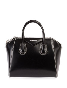 Antigona Small Smooth Leather Satchel Bag by Givenchy