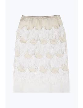 Organza Fringe Skirt by Marc Jacobs