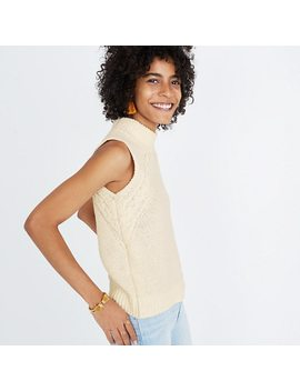 Stitch Mix Mockneck Sweater Tank by Madewell
