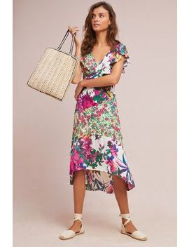 Ennis Floral Dress by Plenty By Tracy Reese