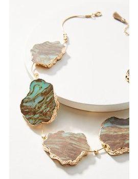 Stone's Throw Bib Necklace by Anthropologie