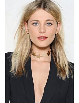 Make It An Event Star Choker by Nasty Gal