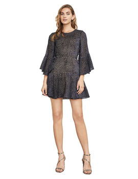 Baylee Velvet Burnout Dress by Bcbgmaxazria