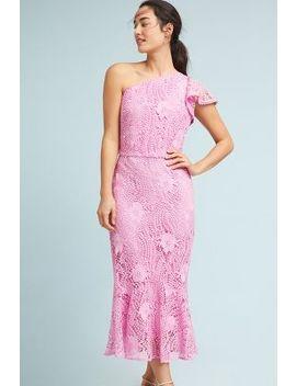 Shoshanna Antonella One Shoulder Dress by Shoshanna