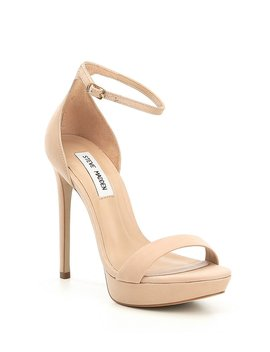 Starlet Ankle Strap Pumps by Steve Madden