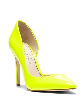 Prizma Patent D'orsay Pumps by Jessica Simpson