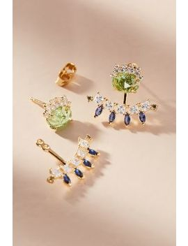 Spring Forward Front Back Earrings by Anthropologie