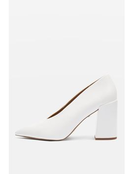 Grove V Cut Court Shoes by Topshop