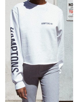 Nancy Hamptons Ny Sweatshirt by Brandy Melville