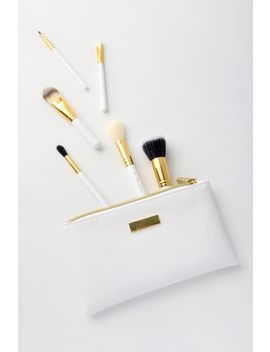 Bright White 6 Piece Brush Set by Bh Cosmetics