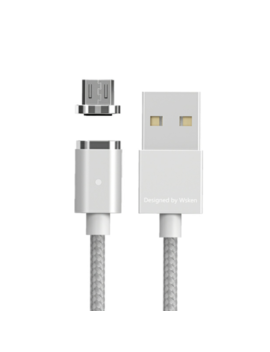 Wsken Mini 2 Magnetic Type C/Micro Usb/Lightining Plug Charging Cable 1/2 Meters by Wsken
