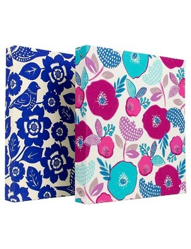 "Greenroom™ 1.5"" 3 Ring Binder, 8.5"" X 11""   Floral by Greenroom"