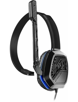 Lvl 1 Communicator Wired Gaming Headset For Play Station 4   Black by Afterglow