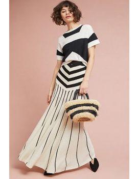Malik Striped Skirt by Tabula Rasa