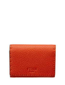 Fendi By The Way Leather Card Holder by Fendi