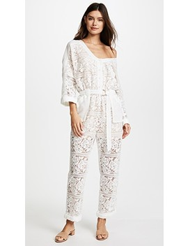 Gisella Lace Jumpsuit by We Are Kindred