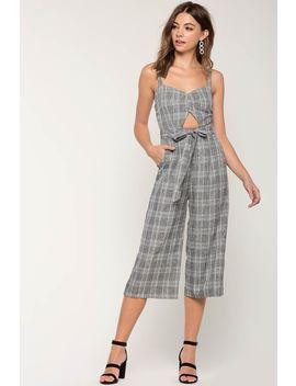 Baker Linen Culotte Jumpsuit by A'gaci
