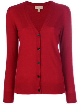 V Neck Cardigan by Burberry