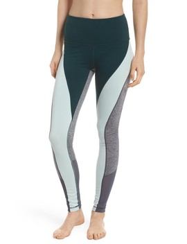 Get In Line High Waist Leggings by Zella