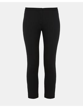 Cotton Pique Classic Skinny Pant by Theory