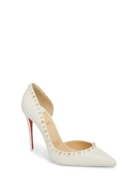 Irishell Spiked Half D'orsay Pump by Christian Louboutin