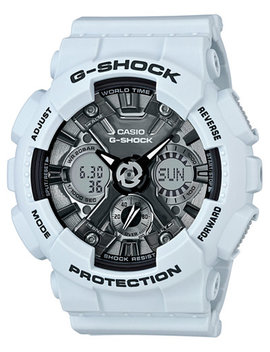 Women's Analog Digital S Series Blue Resin Strap Watch 46mm Gmas120 Mf 2 A by G Shock
