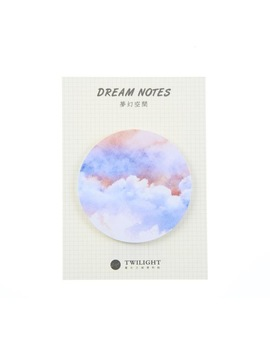 Natural Dream Series Self Adhesive Memo Pad Sticky Notes Post It Bookmark School Office Supply by He Dao Official Store
