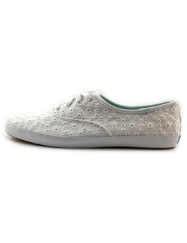 Keds Champion Eyelet Canvas Fashion Sneakers by Walmart