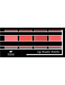 Kokie Professional Lip Poudre Lipstick Palette, Corals, 0.23 Oz by Kokie