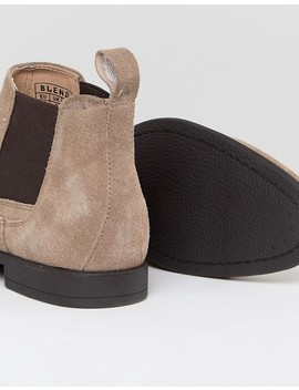 Blend Real Suede Chelsea Boots by Blend