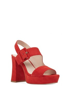 Lexine   40th Anniversary Capsule Collection Platform Sandal by Nine West