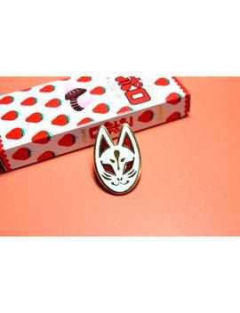 White Fox | Enamel Pins by Etsy