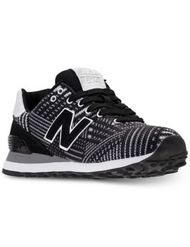 Women's 574 Beaded Casual Sneakers From Finish Line by New Balance