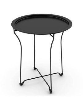 Mainstays Metal Tray Side Table, Multiple Colors by Mainstays