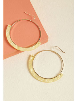 Happy Happenings Hoop Earrings Happy Happenings Hoop Earrings by Modcloth