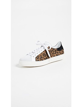 Indiana Leopard Laceup Sneakers by One By Dept. Of Finery