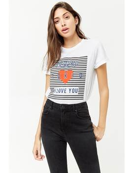 I Love You Tokyo Graphic Tee by Forever 21