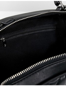 Stradivarius Quilted Stripe Strap Cross Body Bag by Stradivarius