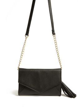 Faux Leather Envelope Crossbody Bag by Forever 21