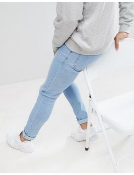 Pull&Bear Super Skinny Jeans In Light Blue by Pull&Bear