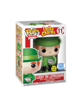 Funko Pop! Glow In The Dark Lucky The Leprechaun #11 Funko Shop Exclusive Charms by Funko